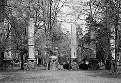 Millwood (Ruins), U.S. Route 76 (Garners Ferry Road), Columbia vicinity (Richland County, South Carolina).jpg