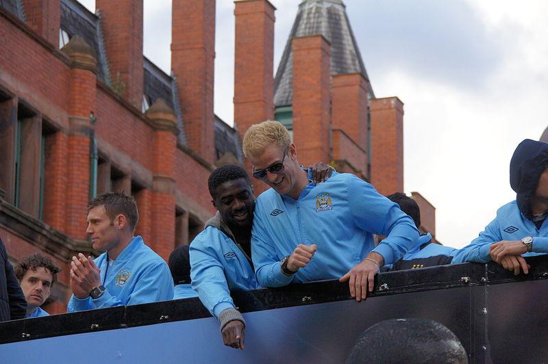 File:Milner, Kolo, Hart - Premier League parade 2011-12.jpg