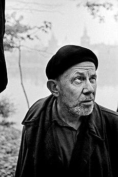Miloň Novotný, Portrét Josefa Sudka, Praha 1958.jpg