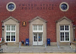 Mineola, New York - The Mineola Post Office