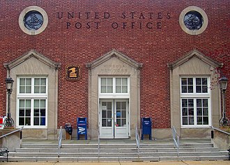 Mineola, New York - The Mineola Post Office
