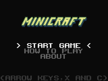 Minicraft Title Screen.png