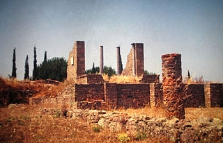 Miróbriga Roman city in Lusitania