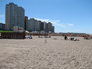 Miramar, Buenos Aires - Image: Miramar view from the beach