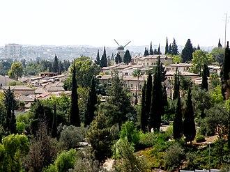 Yemin Moshe - View of Yemin Moshe