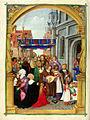 Missale Hallense of Albrecht of Brandenburg (1524) - Aschaffenburg Hofbibliothek Ms10 f193v (Corpus Christi Procession).jpg