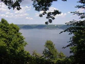 Frontenac State Park - View of Lake Pepin from Frontenac State Park