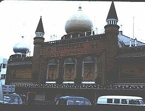 Corn Palace - Image: Mitchell Corn Palace Front 1964