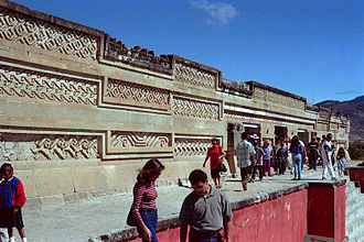 Zapotec civilization - Palace of Columns, Mitla, Oaxaca