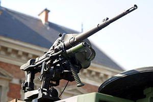 AA-52 machine gun - AA-52 mounted on a Leclerc main battle tank