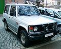 Mitsubishi Pajero front 20071212.jpg