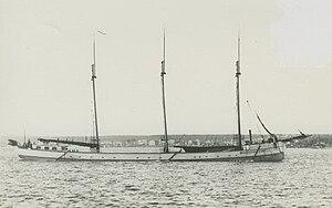Miztec (schooner barge) - Image: Miztec 3 masted