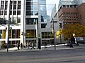 Mmmuffins and Tim Hortons, NW corner of Queen and Victoria, 2013 10 23 (3).JPG - panoramio.jpg