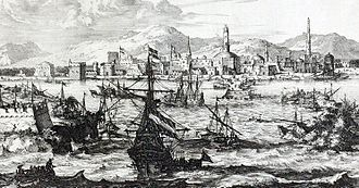 Coffee - View of Mocha, Yemen during the second half of the 17th century.