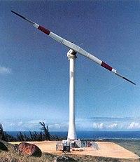 Mod-5B Wind turbine