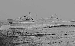dd37040a968f HMS Mode under en övning sommaren, 1980 tillsammans med systerfartyget HMS  Magne (P153)