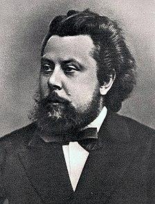 Modest Mussorgsky Russian composer (1839-1881)