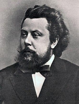 Boris Godunov (opera) - Mussorgsky in 1870