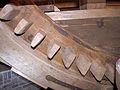 Molen De Korenbloem, Kortgene bovenwiel genummerde kammen voor motoraandrijving.jpg