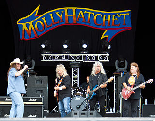 Molly Hatchet American southern rock/hard rock band