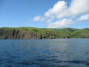 Moneron Island - Image: Moneron Island