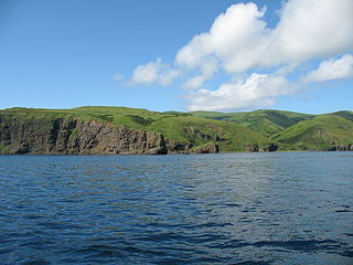 Moneron Island island off of Sakhalin Island