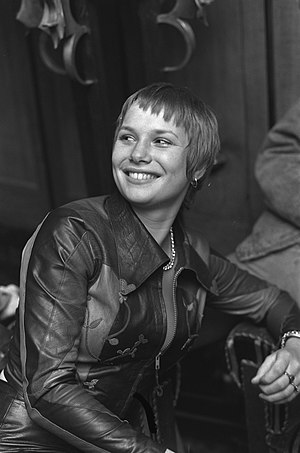 Monique van de Ven - Monique van de Ven in 1973