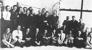 Montreal Laboratory - Montreal Laboratory staff in 1944