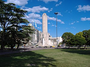 History of Rosario - The National Flag Memorial, inaugurated in 1957.