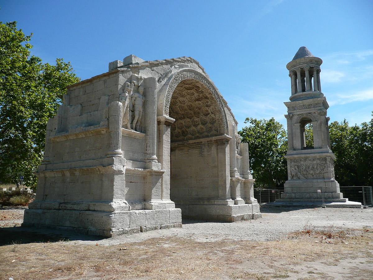arco di glanum wikipedia. Black Bedroom Furniture Sets. Home Design Ideas