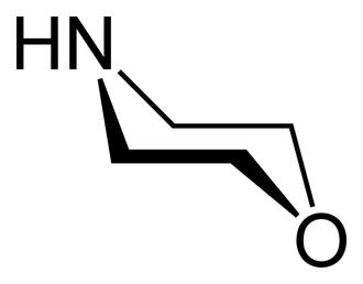 Morpholine - Image: Morpholine stereo 2D skeletal