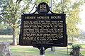 Morris House, historical marker.JPG