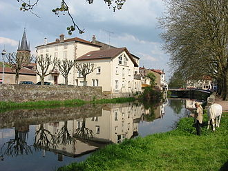 Mortagne (river) - The Mortagne at Rambervillers.