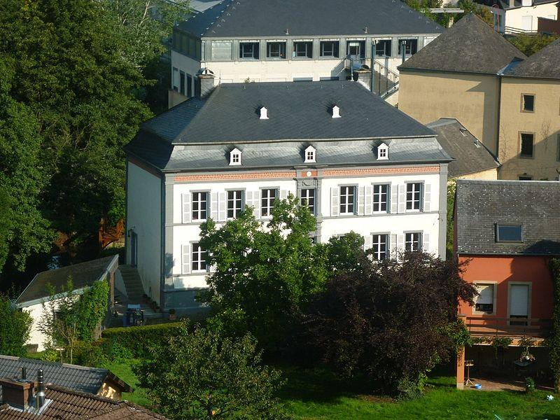 Millen erbaut 1797 vun der Koppel Jean-Baptiste Weydert an Elisabetha Gemen an der Fiels, 17 rue de Medernach