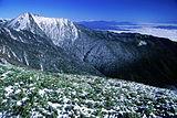 Mount Jonen from Mount Cho 2001-11-11.jpg
