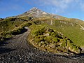Mount Taranaki, New Zealand (05) - Northern Road to the top.JPG