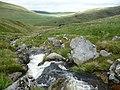 Mountain stream - the Nant y Llyn - geograph.org.uk - 1991749.jpg