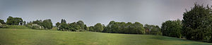 Mountsfield Park - Panorama of the park