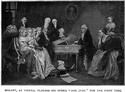 Mozart anticipa il Don Giovanni ai viennesi.