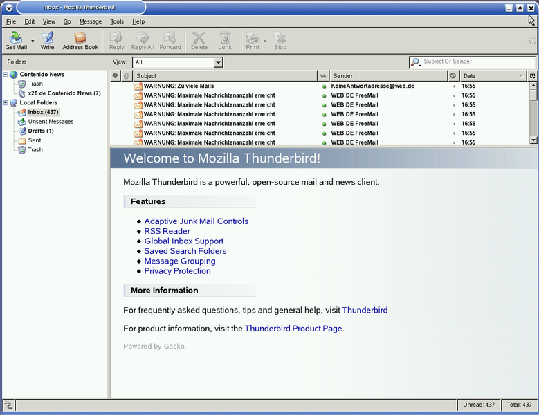 Файл:Mozilla thunderbird empty screenshot.png