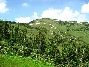 Mount Aizu-Komagatake - Image: Mt. Aizukoma 080713