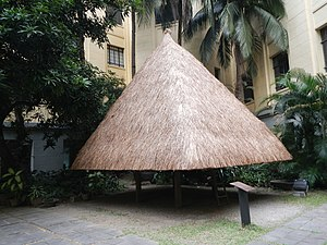 Architecture of the Philippines - A replica of a traditional Ifugao house.