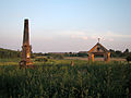 Myców - drewniana cerkiew greckokatolicka - otoczenie (05) - DSC03678 v1.jpg