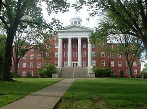 Wittenberg University - Myers Hall was the first building at Wittenberg built in 1846