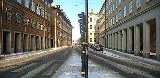 Myntgatan - Image: Myntgatan February 2007