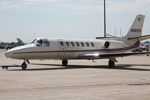N569TA Cessna Citation V (7534316152)