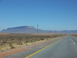 N7 road (South Africa) - Image: N7 Vanrhynsdorp