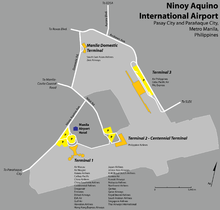 Information and other philippine destinations.  Schedules, airport transportation airport terminals-terminals...