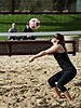 NCAA beach volleyball match at Stanford in 2017 (32438712024).jpg