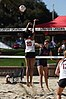 NCAA beach volleyball match at Stanford in 2017 (32588930244).jpg